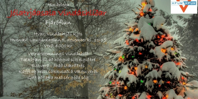 Jólatrjáasölu Vindáshlíðar aflýst